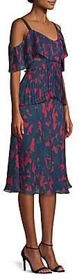Jason Wu Collection Women's Chiffon Cold-Shoulder Dress