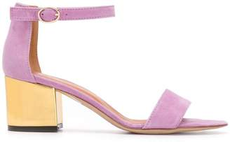 Via Roma 15 Block Heel Sandals