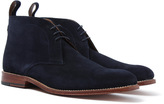 Grenson Marcus Navy Suede Chukka Boot