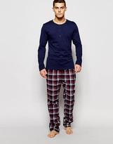 Esprit Pyjamas In Regular Fit - Red