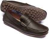 Charles Tyrwhitt Brown Wanson loafers