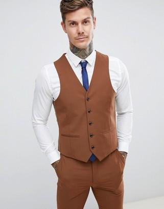 Harry Brown wedding slim fit super soft suit vest
