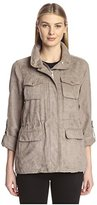 Vince Camuto Women's Faux Suede Jacket with Pockets