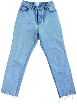 Zulu & Zephyr Blue Cotton Jeans for Women