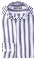 Michael Bastian Stripe Trim Fit Dress Shirt