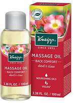 Kneipp Massage Oil, Back Comfort, Devil's Claw, 3.38 fl. oz.