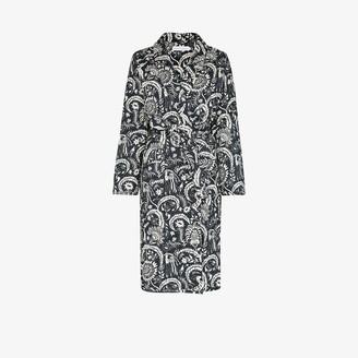 Desmond & Dempsey Zocalo printed robe