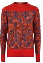 Vivienne Westwood Melange Diamond Knit Jumper