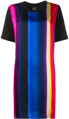 Paul Smith striped crew-neck T-shirt dress