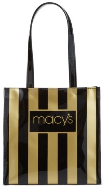 Dani Accessories Macy's Striped Lunch Tote, Created for Macy's