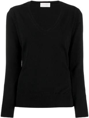 Zanone fitted v-neck jumper