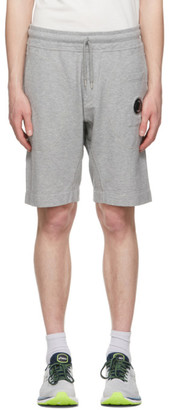C.P. Company Grey Garment-Dyed Shorts