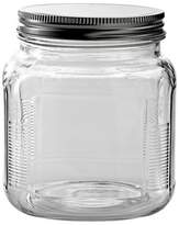 Anchor Hocking Glass Cracker Jar with Metal Lid