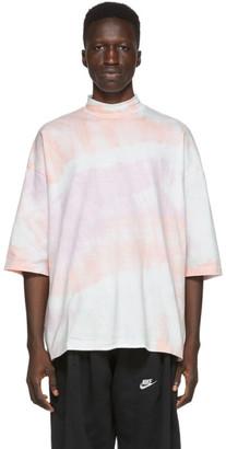 SASQUATCHfabrix. Pink Tie-Dye Mock Neck T-Shirt
