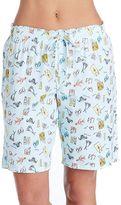 Jockey Women's Pajamas: Printed Bermuda Sleep Shorts