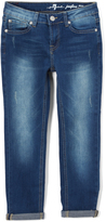 7 For All Mankind Brilliant Blue Josefina Jeans - Girls