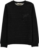 Little Eleven Paris Portishead Marl Sweatshirt with Pocket