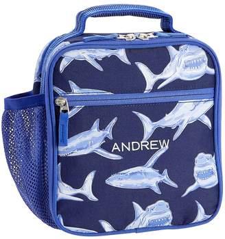 Pottery Barn Kids Mackenzie Blue Glow-in-the-Dark Sharks Lunch Bags