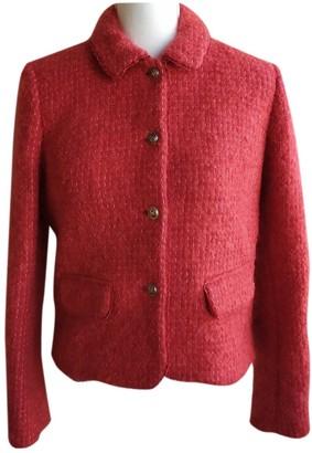 Paul & Joe Red Wool Jacket for Women