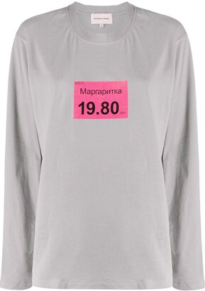 Natasha Zinko Margartika print T-shirt