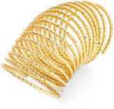 Thalia Sodi Gold-Tone Long Textured Coil Statement Ring, Only at Macy's