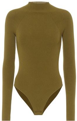 ZEYNEP ARCAY Ribbed knit bodysuit