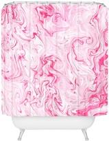 Deny Designs Lisa Argyropoulos Marble Twist V Shower Curtain