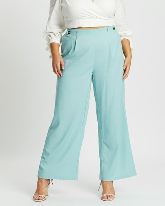 Mika Muse Somewhere In Rome Wide-Leg Pants