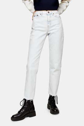 Topshop CONSIDERED Super Bleach Straight Jeans