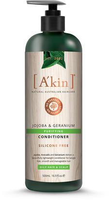 Akin A'Kin Jojoba & Geranium Purifying Conditioner 500Ml