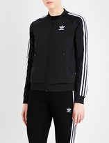 adidas 3-Stripes zip-up jersey jacket
