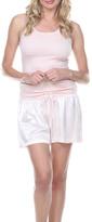 PJ Harlow Satin Boxer Shorts