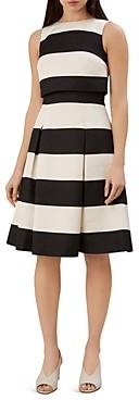 Hobbs London Emma Popover Striped Dress