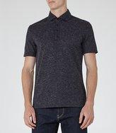 Reiss Baltimore Flecked Polo Shirt