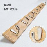 ASIBG Home Solid wood coa rack hanger creaive robe hook wall moun coa hooks