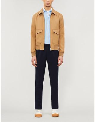 Sandro Aviator wool-blend jacket