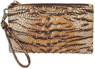 Brahmin Ombre Melbourne Daisy Clutch (Feline) Handbags