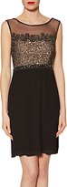 Gina Bacconi Judy Beaded Dress, Black