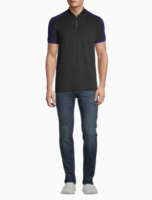 Calvin Klein Move 365 Logo Zip Polo Shirt