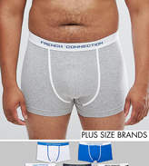 French Connection PLUS 5 Pack Boxers