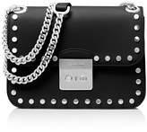MICHAEL Michael Kors Sloan Editor Chain Stud Medium Leather Shoulder Bag