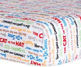 Dr. Seuss Dr. SeussTM by Trend Lab® Alphabet Seuss Titles Fitted Crib Sheet