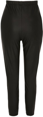 River Island Maternity Coated Legging - Black