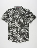 Retrofit Roses Mens Shirt