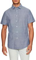 Slate & Stone Printed Spread Collar Sportshirt