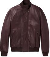 Ermenegildo Zegna - Leather Bomber Jacket