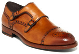 Magnanni Tauro Brogue Double Monk Strap Shoe