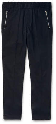 Paul Smith Navy Slim-Fit Wool-Blend Trousers