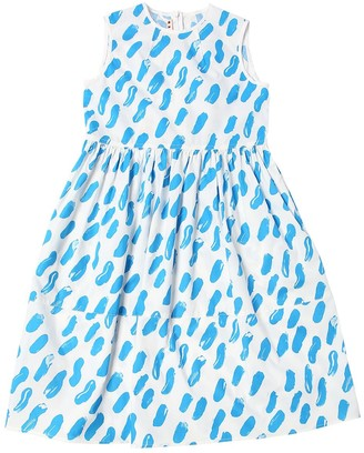 Marni Junior Printed Cotton Poplin Dress