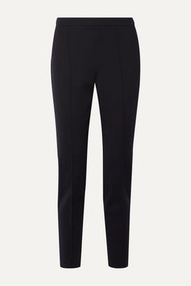 Loro Piana Wool-blend Straight-leg Pants - Midnight blue